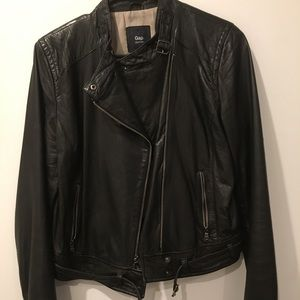 100% Leather Jacket by Gap Edition